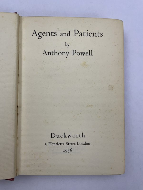 anthony powell 3 signed first editions3