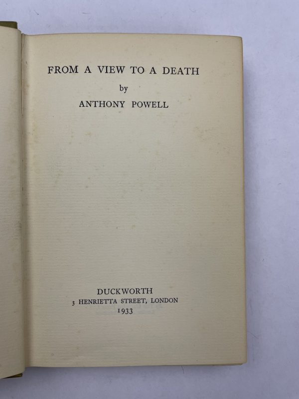 anthony powell 3 signed first editions5