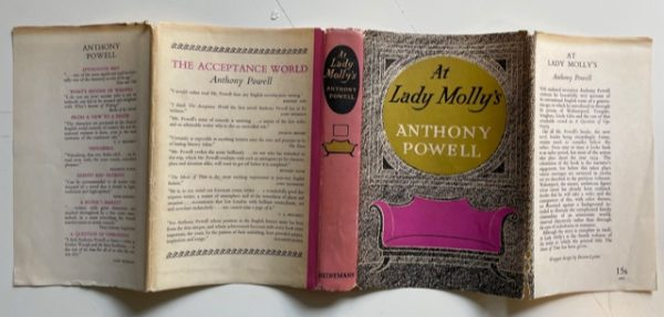 anthony powell at lady mollys signed first edition4
