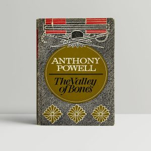 anthony powell the valley of bones first edition1