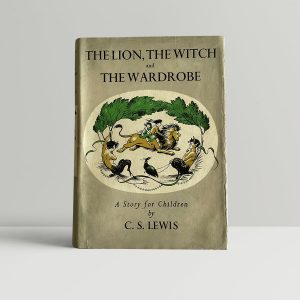 cs lewis the lion the witch and the wardrobe first editon1