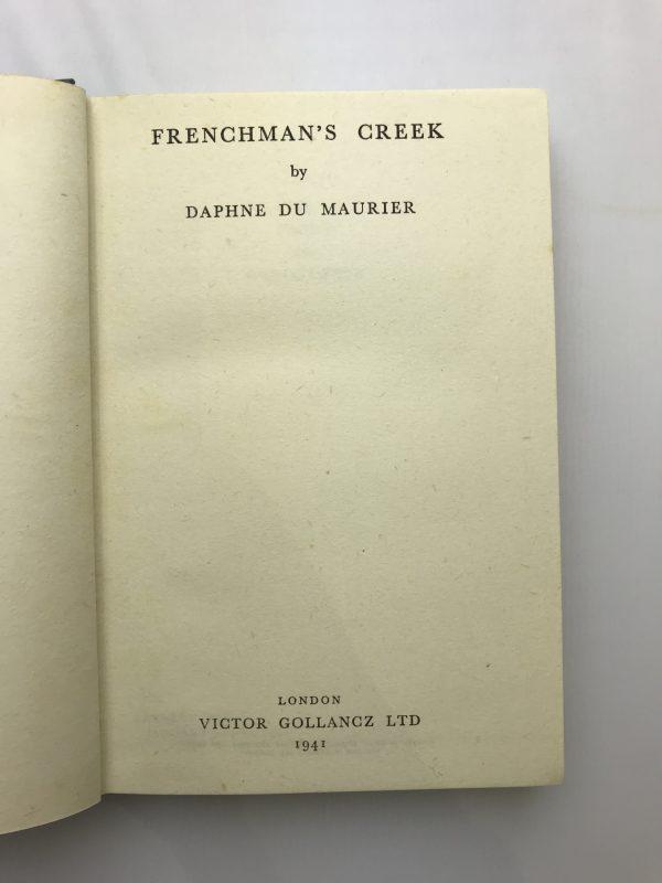 daphne du maurier frenchmans creek first edition2