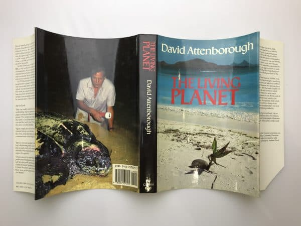 david attenborough the living planet signed first edition5