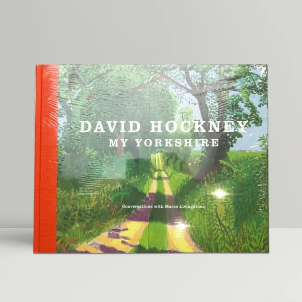 david hockney my yorkshire first ed1
