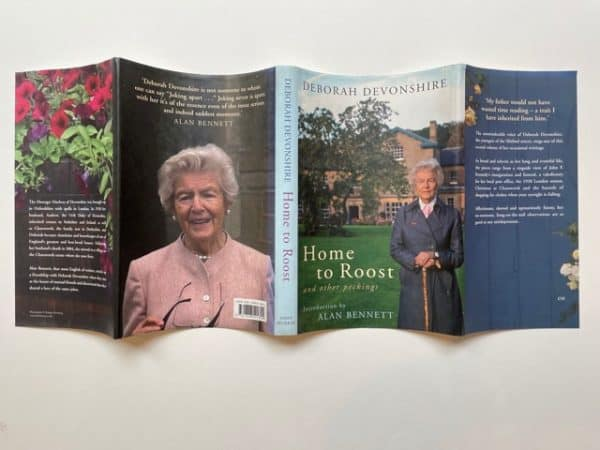 deborah devonshire home to roost and other pickings signed5
