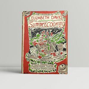 elizabeth david summer cooking first edition1
