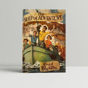 enid blyton ship of adventure first ed1