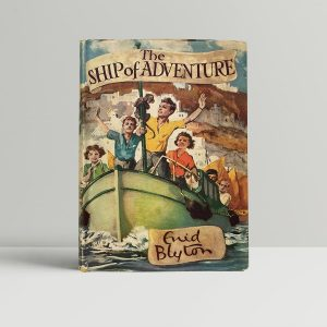 enid blyton the ship of adventure first edition1