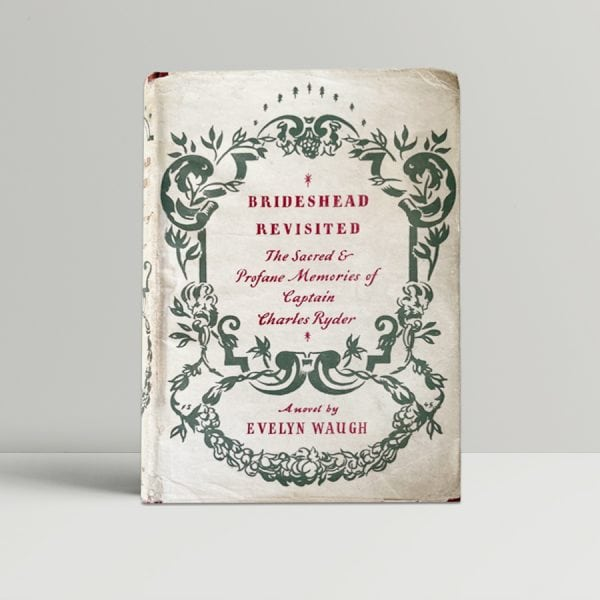 evelyn waugh brideshead revisited first edition1