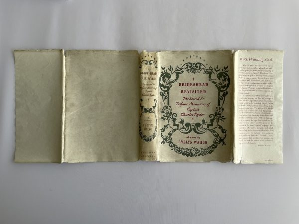 evelyn waugh brideshead revisited first edition5