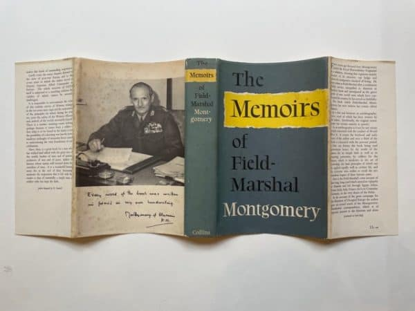 field marshall montgomery the memoirs signed4