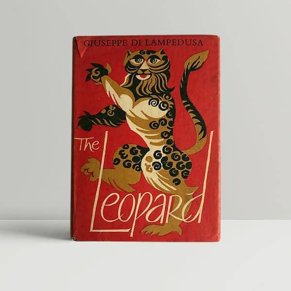 giuseppe di lampedusa the leopard first ed1