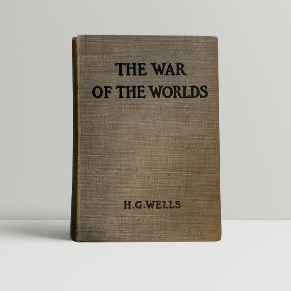hg wells the war of the worlds fisrt edition1