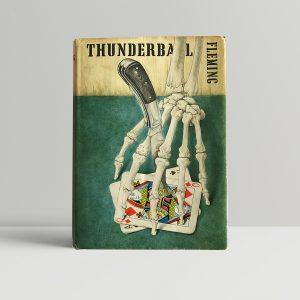 ian fleming thunderball 1st ed1