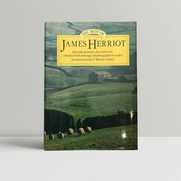 james herriot the best signed first edition1