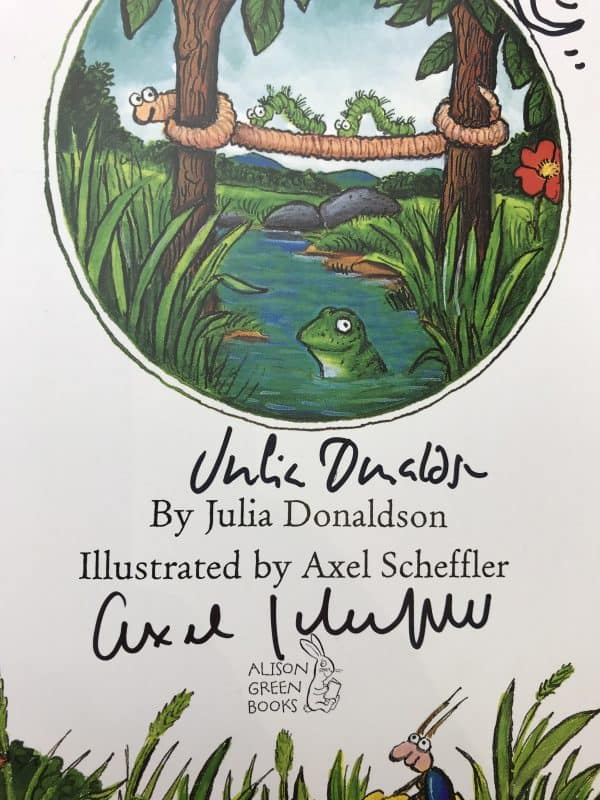 julia donaldson superworm double signed first edition2