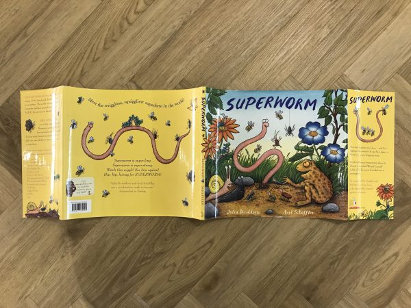 julia donaldson superworm double signed first edition5