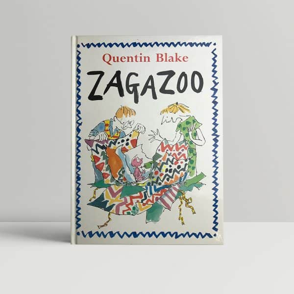 quentin blake zagazoo first edition signed1