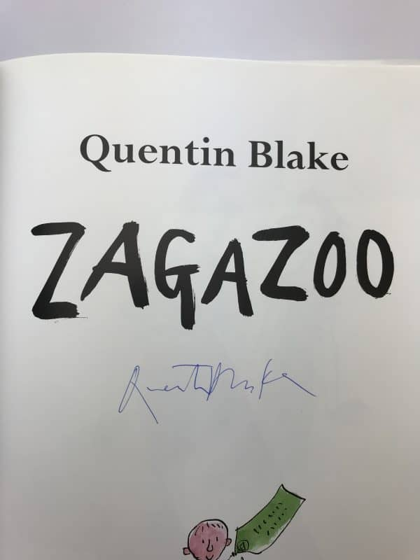 quentin blake zagazoo first edition signed2