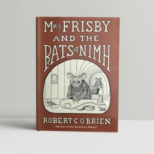 robert c obrien mrs frisby and the rats of nimh first edition1 600x600 1