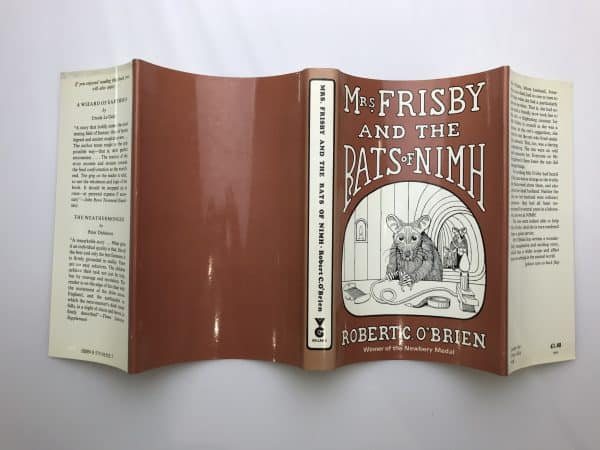 robert c obrien mrs frisby and the rats of nimh first edition4