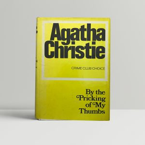 agatha christie by the pricking first ed1