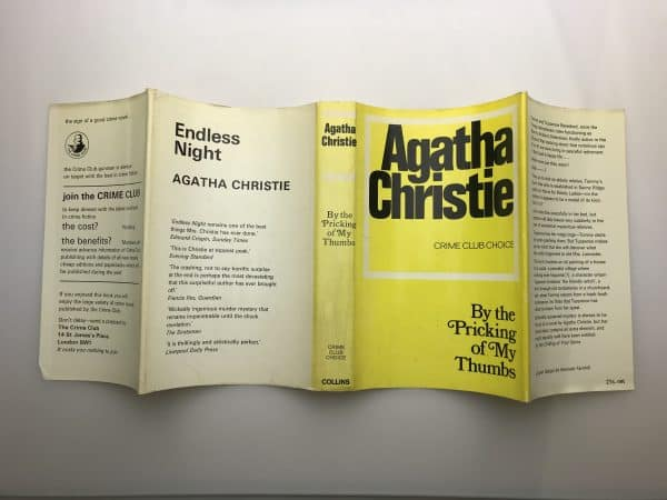 agatha christie by the pricking first ed4