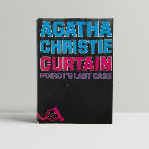 agatha christie curtain 1st editon 125 1