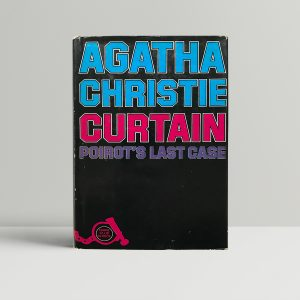 agatha christie curtain 1st editon 150 1