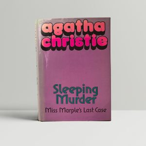 agatha christie sleeping murder first ed95 1