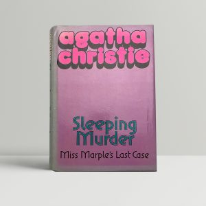 agatha christie sleeping murder first edition100 1