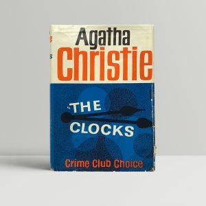 agatha christie the clocks 1st edition1