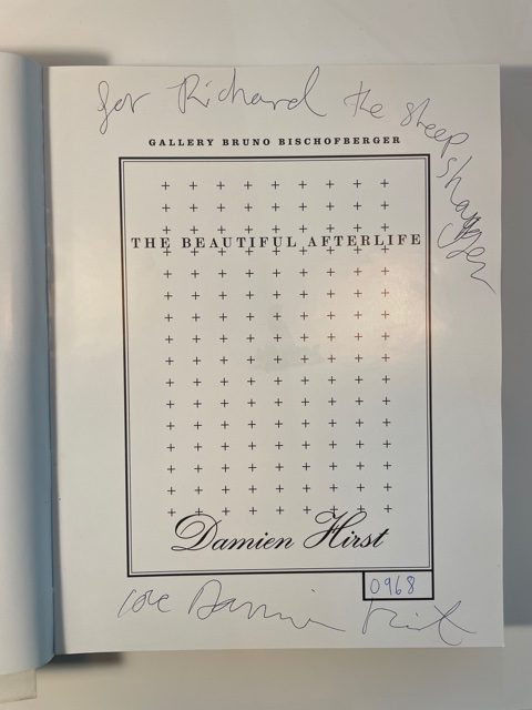 damien hirst the beautiful afterlife signed first edition2
