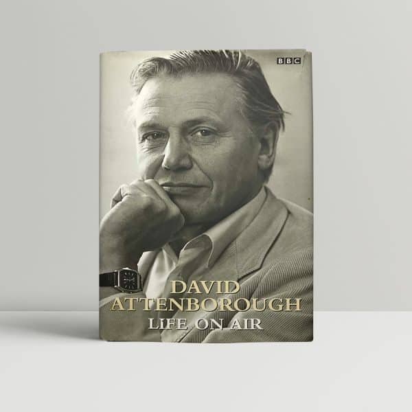 david attenborough life on air signed first edition1