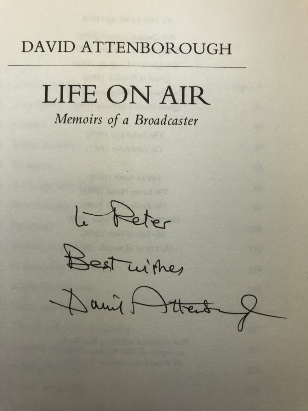 david attenborough life on air signed first edition2