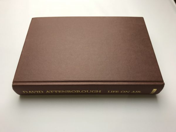 david attenborough life on air signed first edition4