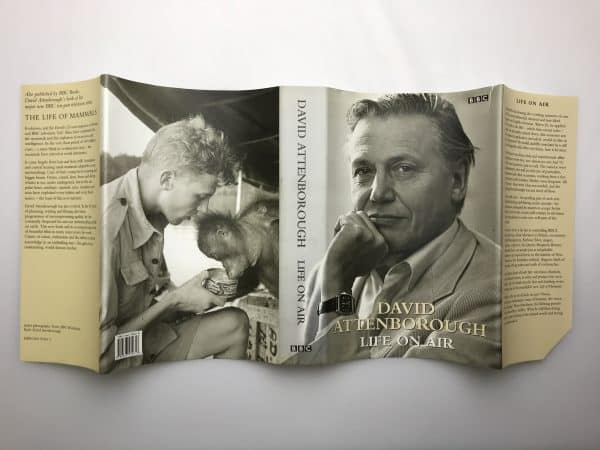 david attenborough life on air signed first edition5