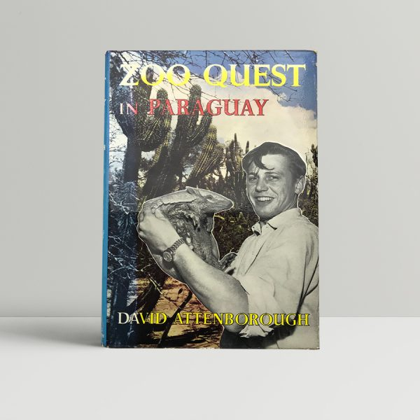 david attenborough zoo quest in paraguay with letterhead1