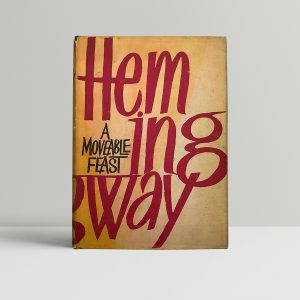 ernest hemingway a moveable feast first edition1