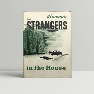 georges simenon strangers in the house first edition1