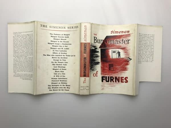 georges simenon the burgomaster of furnace first edition4