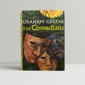 graham greene the comedians alt dust jacket1