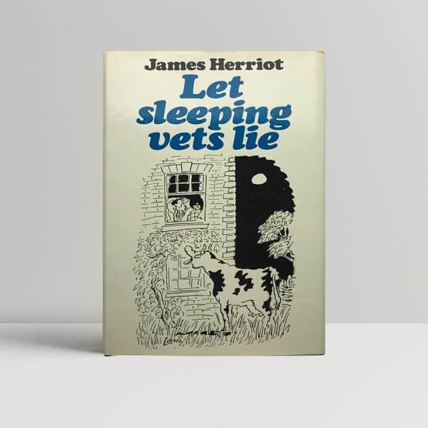 james herriot let sleeping vets lie signed first edition1