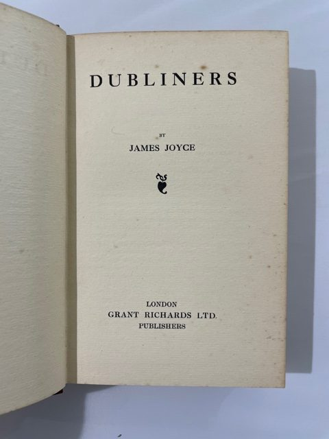 james joyce the dubliners first edition2