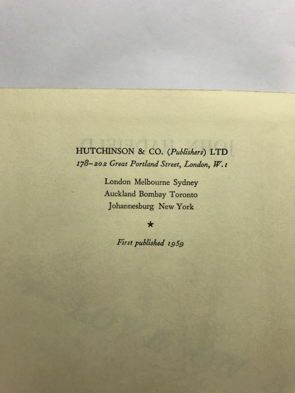 john hadfield love on a branch line first edition2