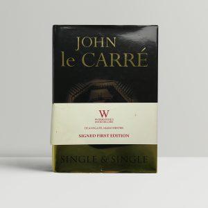 john le carre single and single singed first ed1