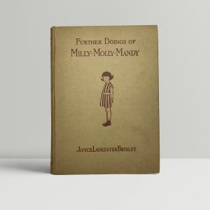 joyce lankeste brisley further doings of milly molly mandy first edition1