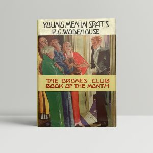 pg wodehouse young men in spats first ed with band1