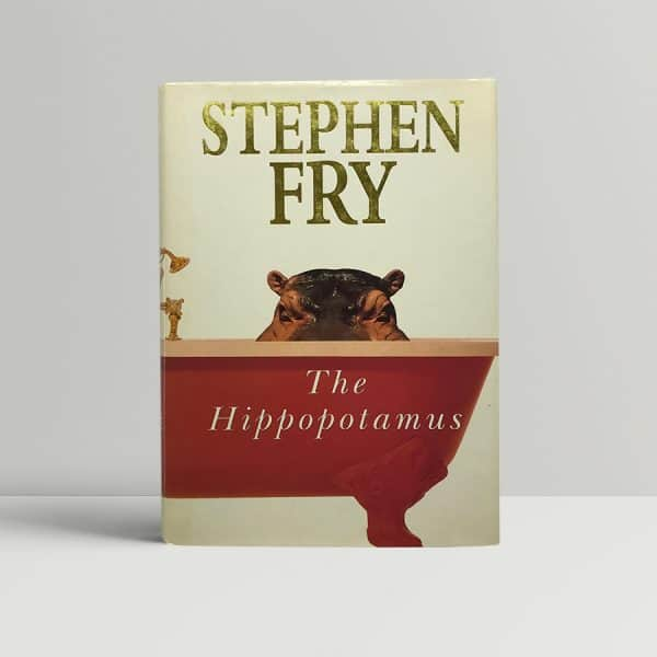 stephen fry the hippopotamus signed first edition1