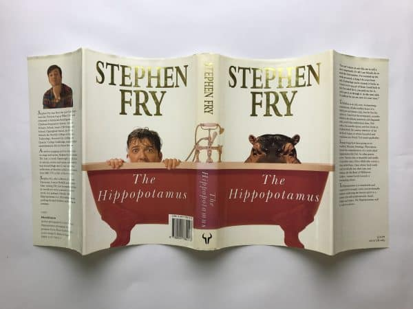 stephen fry the hippopotamus signed first edition5
